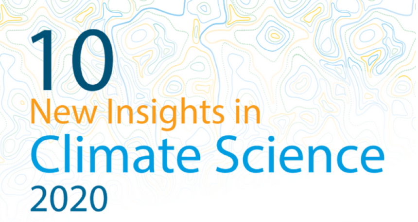 Grafik: 10 New Insights in Climate Science 2020, Future Earth