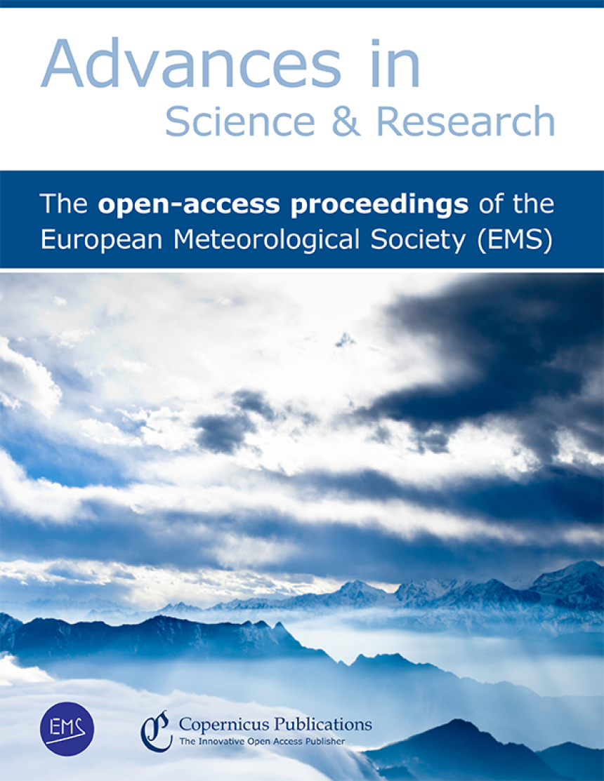Cover Advances in Science and Research