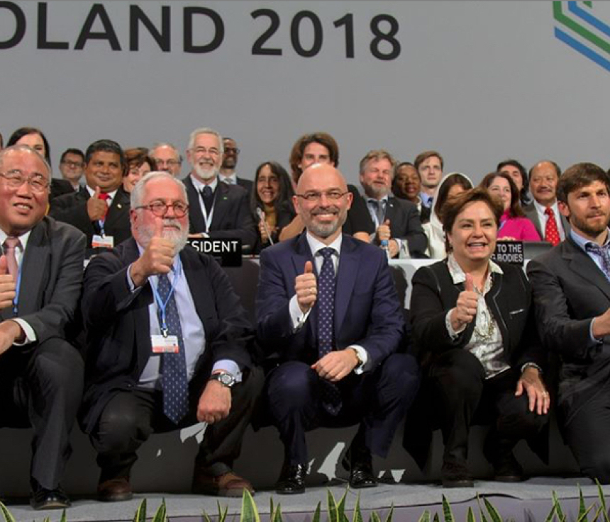 Ende COP24 Thumbs up